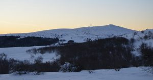 Col Loge_Pierre sur Haute neige